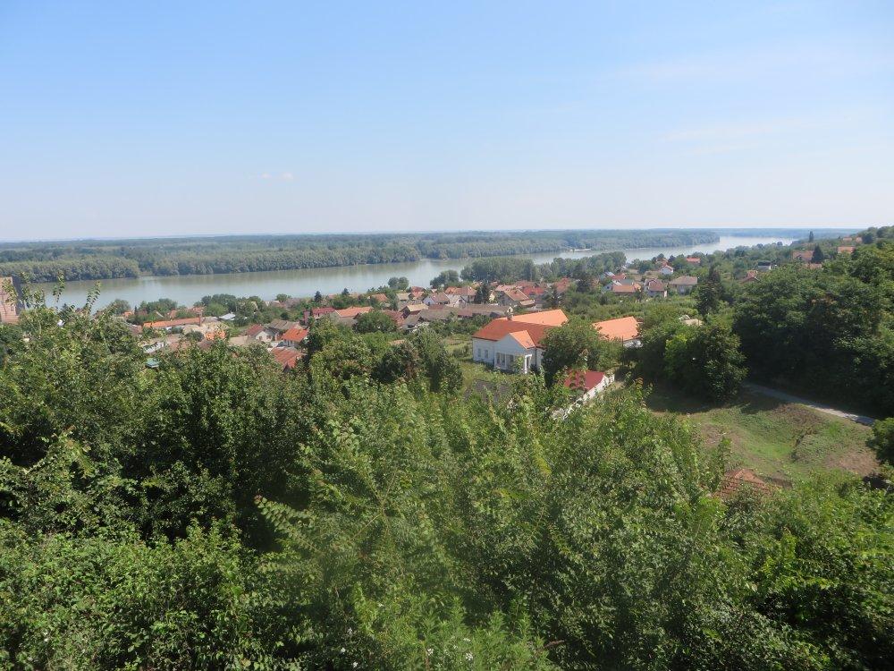 Donau, Aljmas, Auenlandschaft