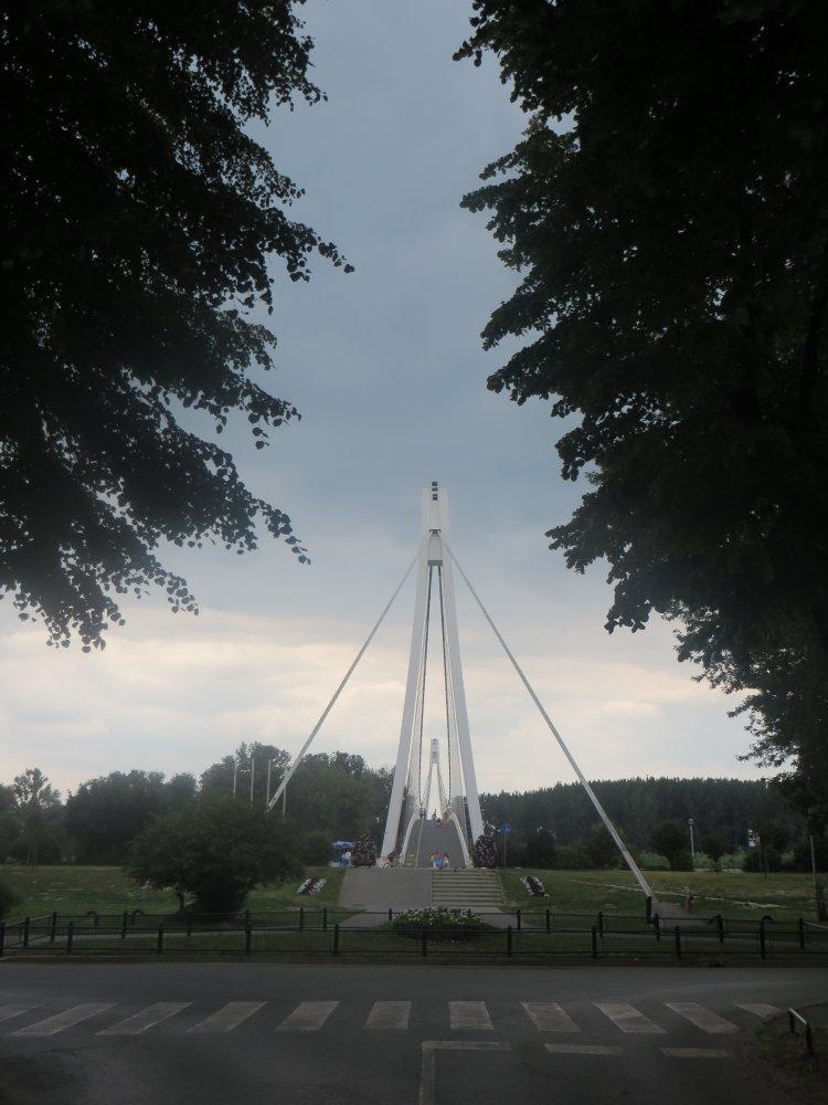 Zum letzten Mal über die Drau, Brücke in Osijek