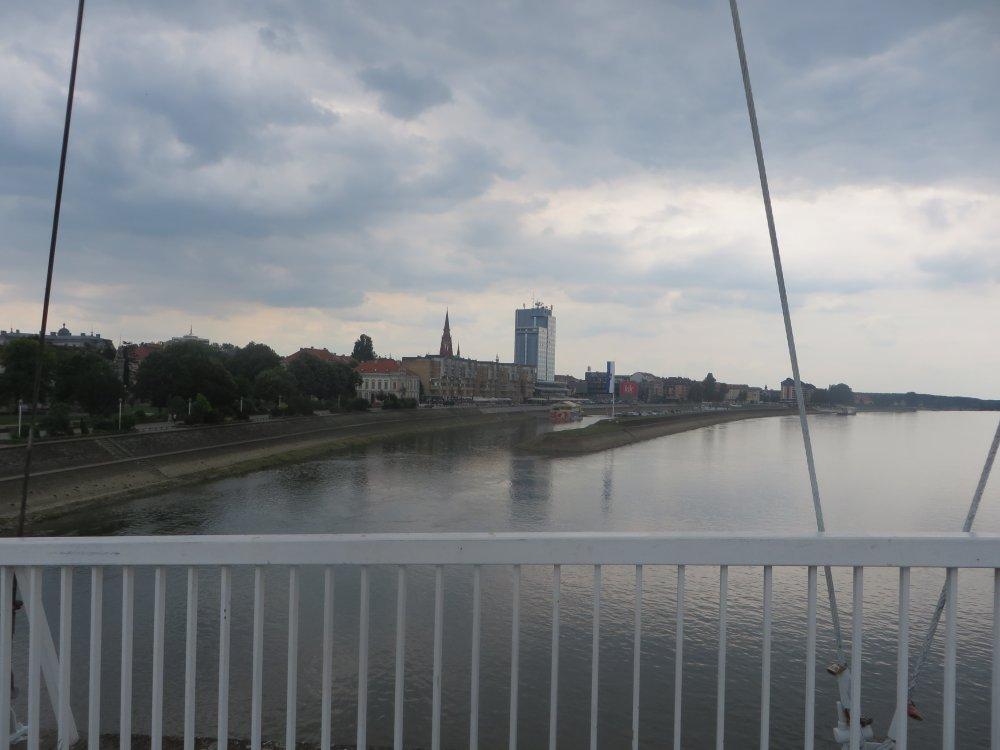 Osijek. Bye bye, Drau!
