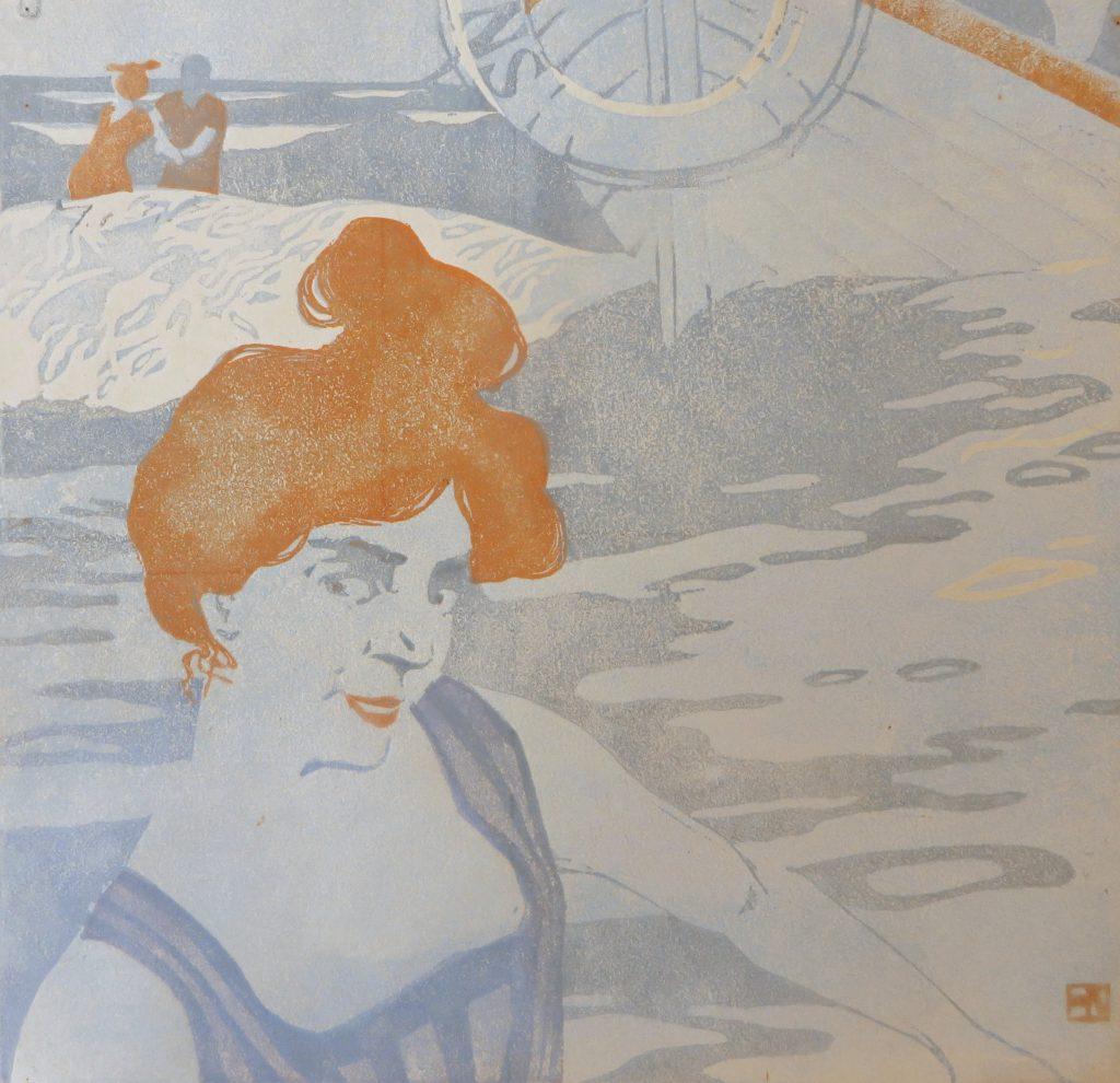 Hans Neumann jr.: Ridda (Farbholzschnitt 1903)
